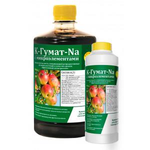 К-Гумат-Na с микроэлементами (биоактиватор роста и антистрессант) Сила жизни