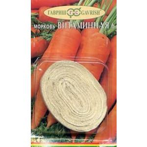 Морковь на ленте ВИТАМИННАЯ 6 Гавриш