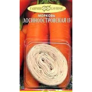 Морковь на ленте ЛОСИНООСТРОВСКАЯ 13 Гавриш