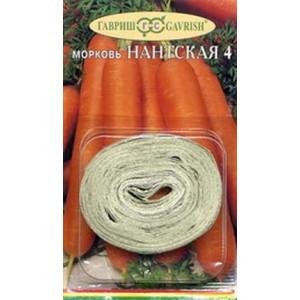 Морковь на ленте НАНТСКАЯ 4 Гавриш