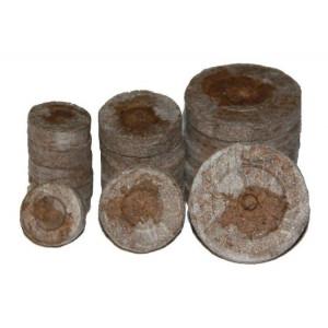 Торф таблетка Jiffy 33 мм Гавриш