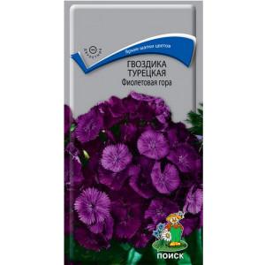 Двулетник Гвоздика (бородатая) Турецкая Фиолетовая гора  ЦВ Поиск
