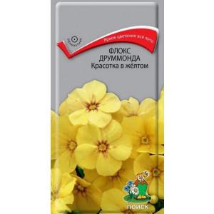 Однолетник Флокс друммонда Красотка в желтом  ЦВ Поиск