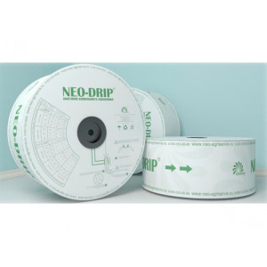 Капельная лента НЕО-ДРИП 6х10 - 1,6 л эмиттерная / NEO-DRIP